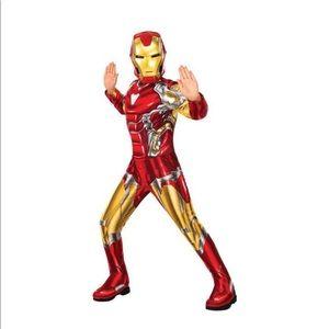 Marvel Avengers Iron Man Boys Costume Size Large